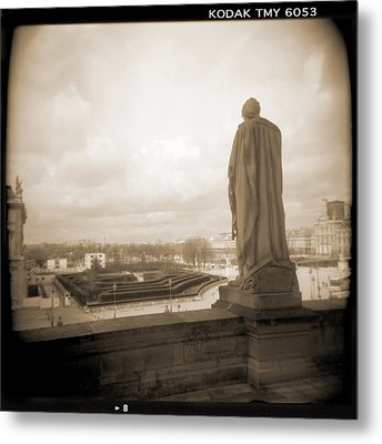 A Walk Through Paris 8 Metal Print by Mike McGlothlen