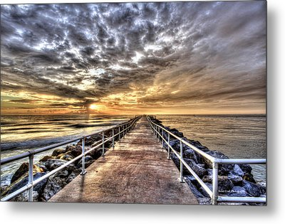 A Walk To The Horizon Metal Print by Brent Craft