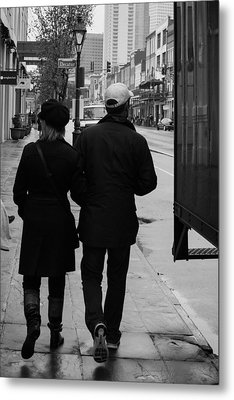 A Walk Together Metal Print