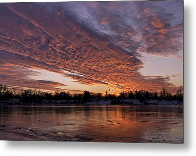 A Westward Pull Metal Print by Craig Szymanski