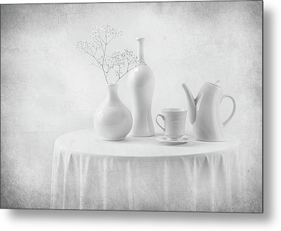 A White Dream Metal Print