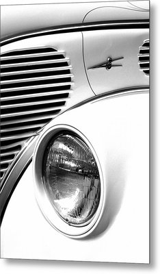 A White V8 Metal Print by Paul W Faust -  Impressions of Light