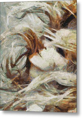Metal Print featuring the painting A Wild Dance by Joe Misrasi