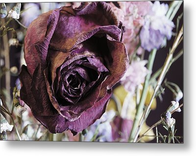 A Wilted Bouquet Metal Print by Angi Parks