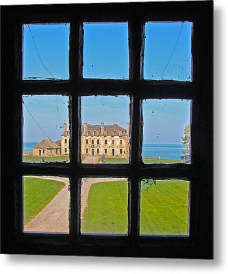 Metal Print featuring the photograph A Window To The Past by Kathleen Scanlan