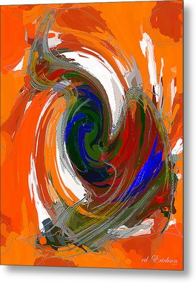 A Wing And A Prayer Metal Print by Roy Erickson