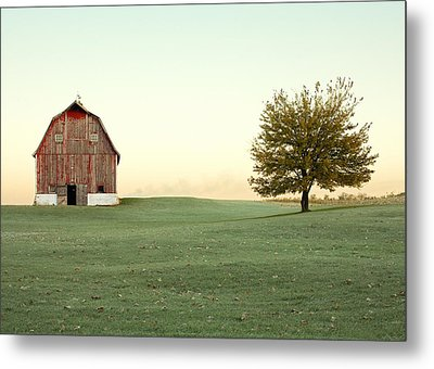 A Wisconsin Postcard Metal Print by Todd Klassy