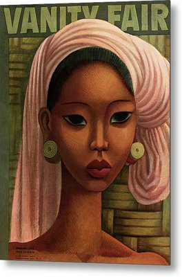 A Woman From Bali Metal Print by Miguel Covarrubias