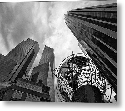A World Of Skyscrapers Metal Print