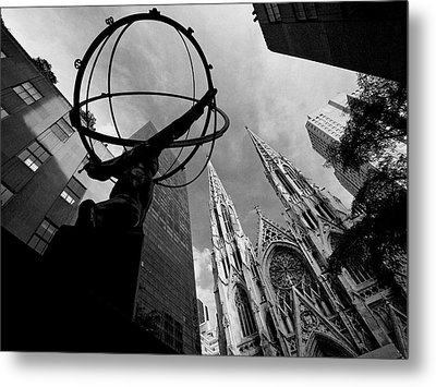 A World Religion Metal Print