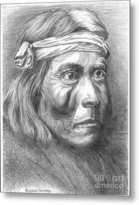Shadow Catcher, A Zuni Governor Metal Print