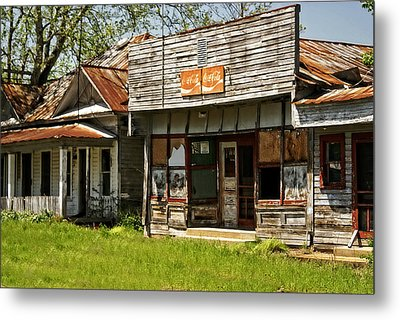 Abandonded Metal Print by Marty Koch