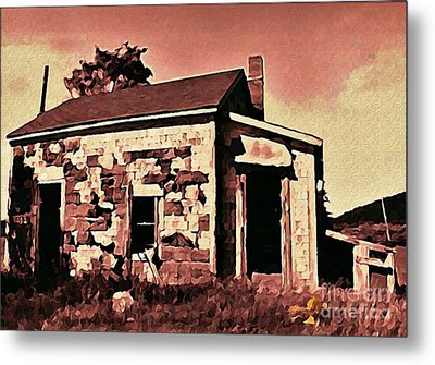 Abandoned Cape Breton House Metal Print by John Malone