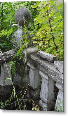 Metal Print featuring the photograph Abandoned Cemetery by Cathy Mahnke