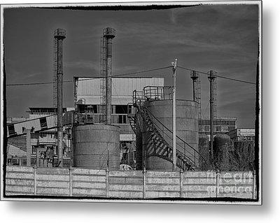 Abandoned Factory At Vadu Metal Print by Gabriela Insuratelu