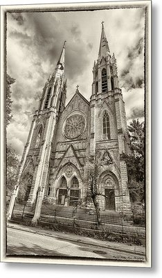 Abandoned Faith Metal Print by Kathy Ponce