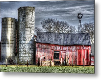 Abandoned Farm New Jersey Metal Print