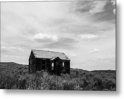 Abandoned House In Oklahoma Metal Print