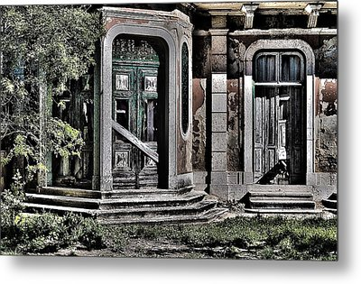 Abandoned House Metal Print by Marco Oliveira