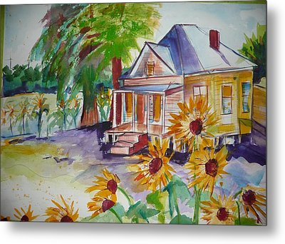 Abandoned House On Dover Metal Print