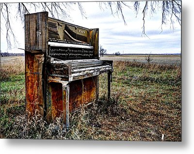 Abandoned Metal Print by Jean Hutchison