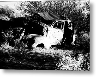 Metal Print featuring the photograph Abandoned by Jessica Shelton