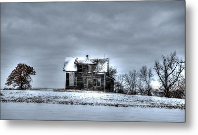 Metal Print featuring the photograph Abandoned  by Kevin Bone