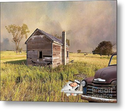 Metal Print featuring the photograph Abandoned by Liane Wright
