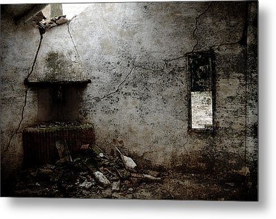 Abandoned Little House 3 Metal Print