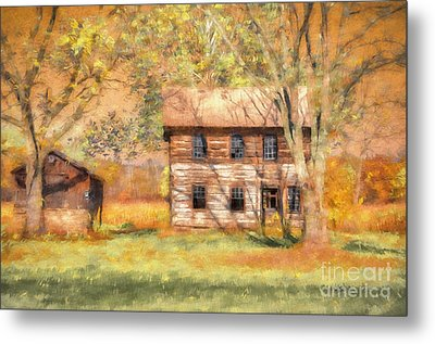 Abandoned Metal Print by Lois Bryan