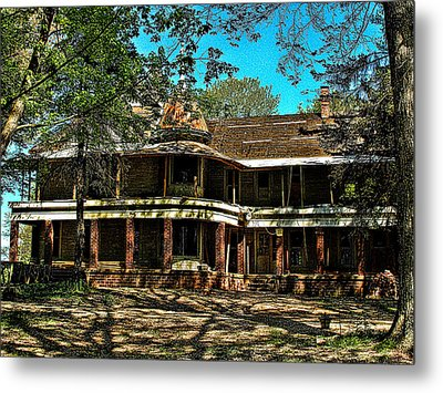 Abandoned Mansion Metal Print by Kristie  Bonnewell