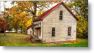 Abandoned Metal Print by Marion Johnson