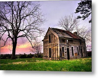 Abandoned Memories - Gateway, Arkansas Metal Print by Gregory Ballos