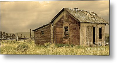Metal Print featuring the photograph Abandoned by Nick  Boren
