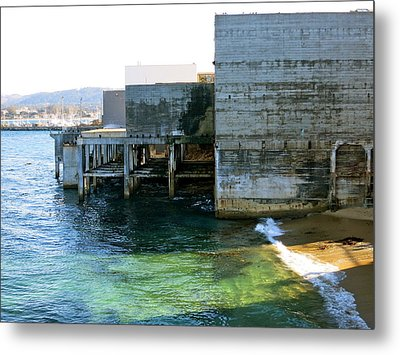 Metal Print featuring the photograph Abandoned On Cannery Row by Paul Foutz