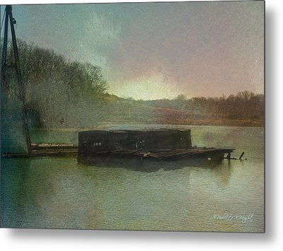 Abandoned Metal Print by Paulette B Wright