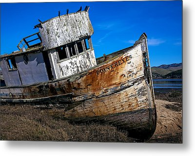 Abandoned Point Reyes Metal Print by Garry Gay