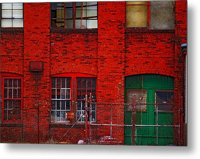 Metal Print featuring the photograph Abandoned by Rowana Ray