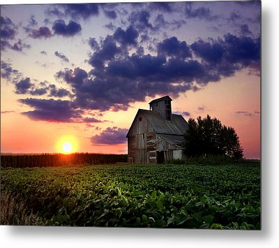 Abandoned Sentinel Metal Print by Rod Seel