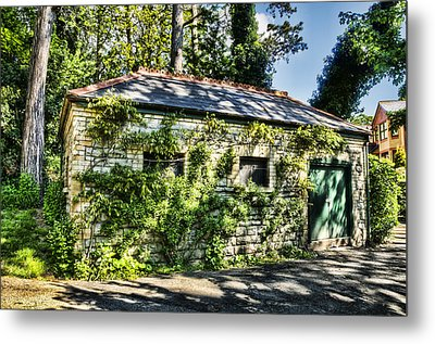 Abandoned Metal Print by Steve Purnell
