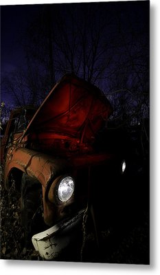 Abandoned Truck Metal Print by Cale Best