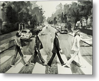 Abbey Road Metal Print by Bekim Art