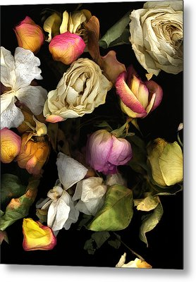 Abbey's Flowers Metal Print by Peter Ciccariello