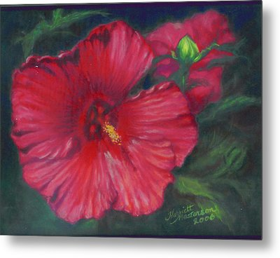 Abby Rose's Mallow Metal Print