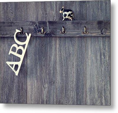 Abc's Metal Print