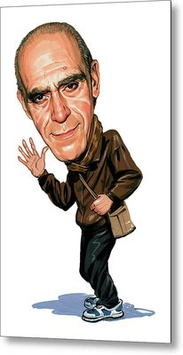 Abe Vigoda Metal Print by Art