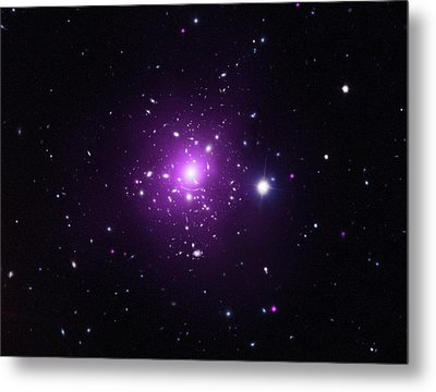 Abell 383 Galaxy Cluster Metal Print