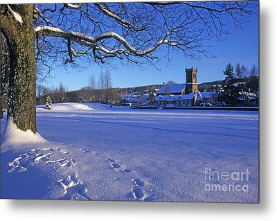 Aberlour Winter Metal Print by Phil Banks