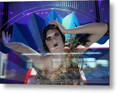 Able And Willing Metal Print by Jez C Self