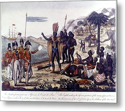 Abolition Of Slavery, 1815 Metal Print